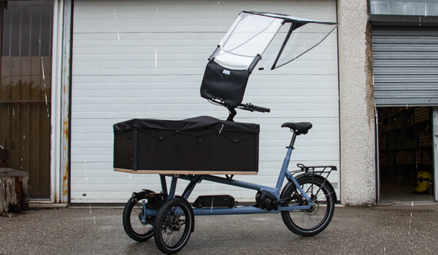 Tricycle et vélo cargo
