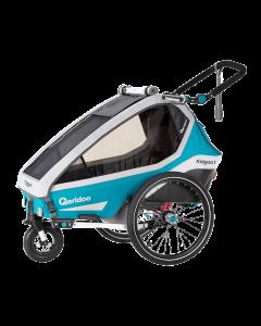 QERIDOO 2020 KIDGOO 1 - Kindersportwagen für Fahrrad