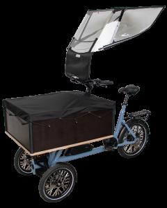 VELTOP CARGO 5 - Protezione antipioggia per Tricicli e Bicicargo