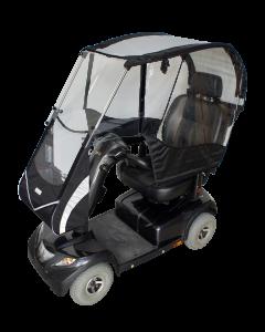 VELTOP COCOON - Protection pluie pour scooter pour personnes à mobilité réduite