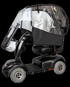 VELTOP COCOON - Wetterdach für Elektromobil, Regenschutz Senioren scooter