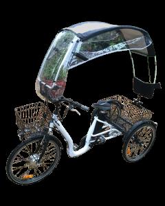 VELTOP COMFORT - Regenschutz Regendach für Dreirad und Tricycles