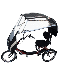VELTOP DISCO - Weather protection, rain protection tricycle