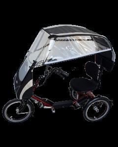 VELTOP DICO - Regendach für Dreirad, tricycles Regenschutz