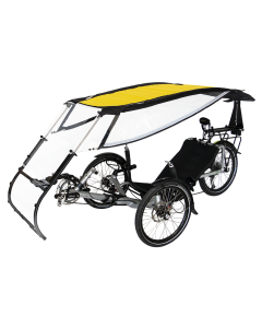 VELTOP EXPEDITION - Recumbent with a roof