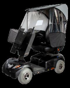 VELTOP MODULO 2 - Protection pluie et froid pour scooters mobilité réduite