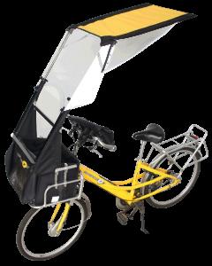 VELTOP POST - Protezione contro la pioggia in bicicletta per i postini