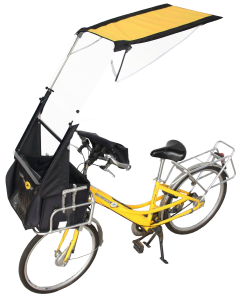 VELTOP POST - Weather bike protection for postman bike