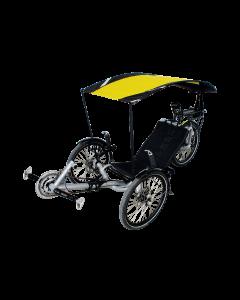 VELTOP SUN RIDE - Liegerad schutz, Sonnenschutz für Liegerad Trike INVACARE