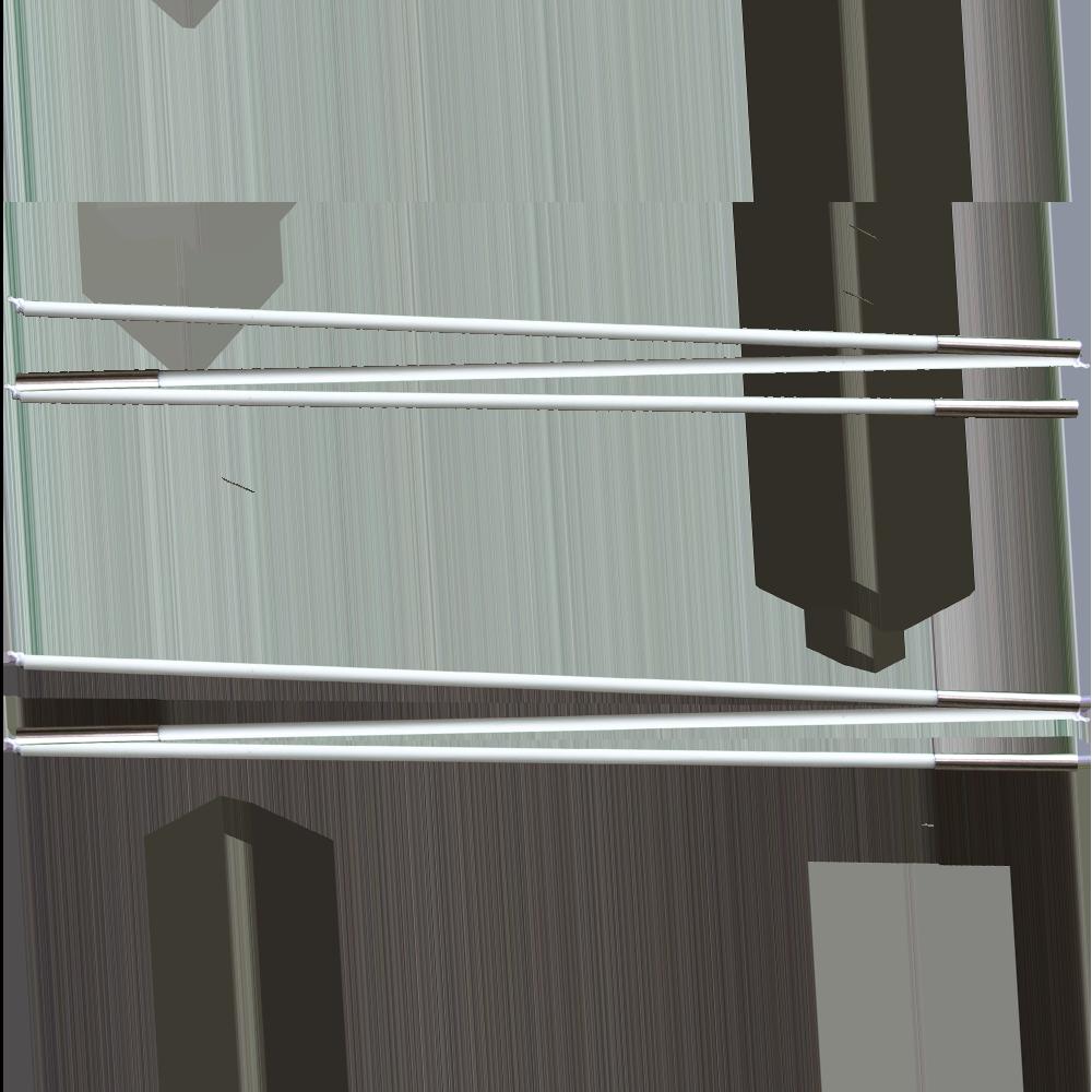 FIBERGLASSTÄBE SEITENFENSTER  (VELTOP EXPEDITION)