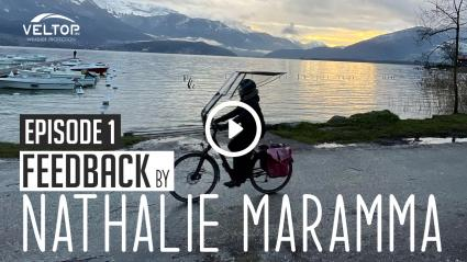 """FEEDBACK Episode 1 - """"La protection pluie pour vélo a changé mes habitudes quotidiennes"""""""
