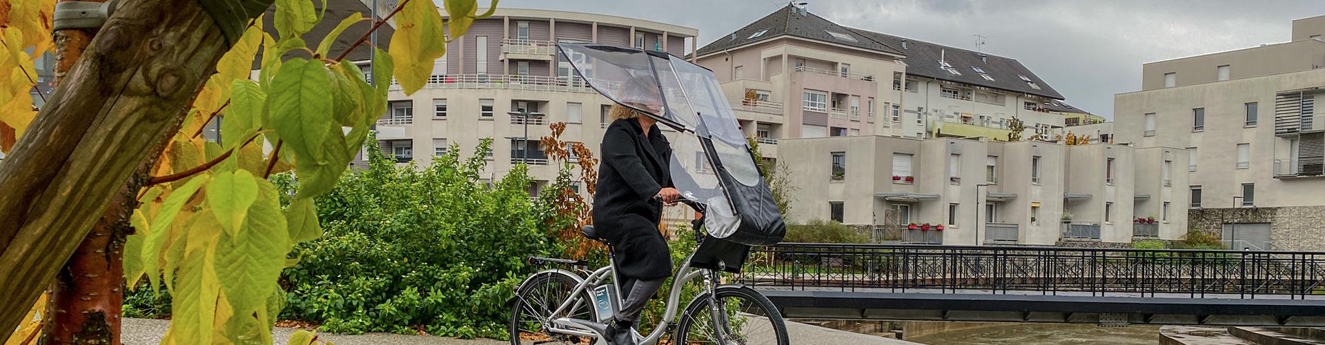 VELTOP URBAN - Cappottina antipioggia per bici